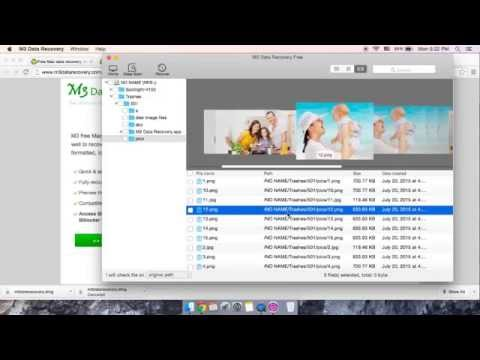 Fee Mac data recovery software to recover deleted files from emptied Mac trash