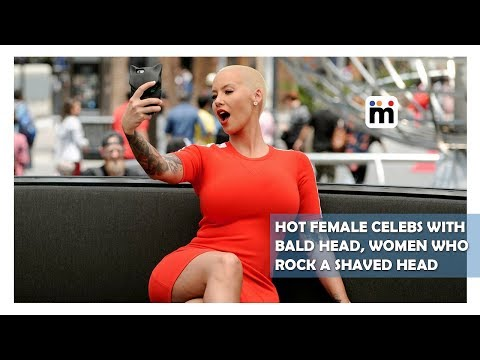 Hot Female Celebs with Bald Head, Women Who Rock A Shaved Head | Mijaaj Entertainment