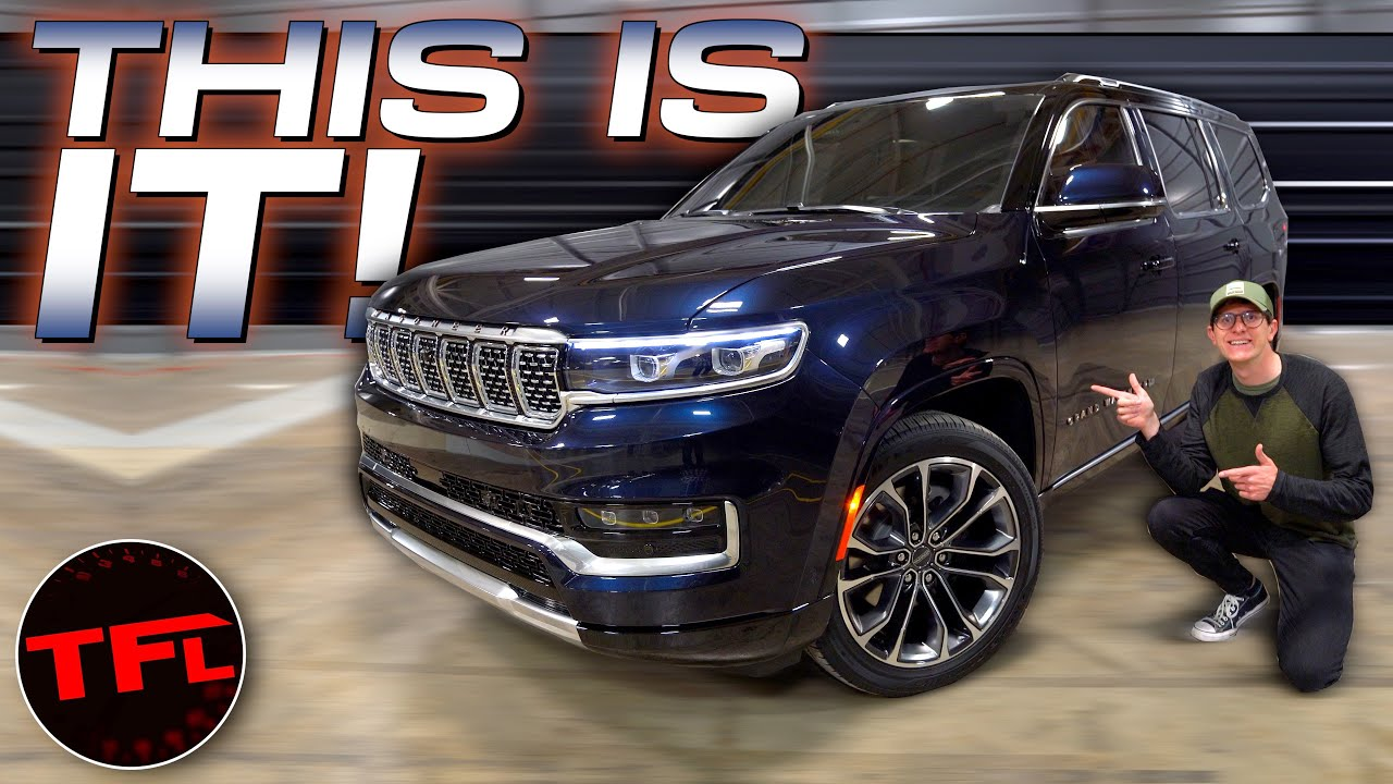 2022 Jeep Grand Wagoneer: You'll Be Surprised How Much Jeep's Flagship Costs And Tows!