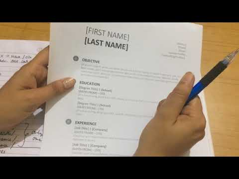 How to make Resume? in Hindi