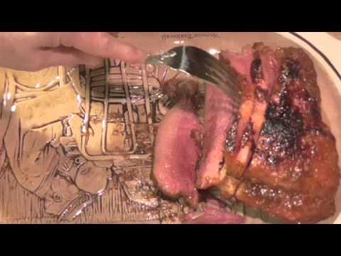 Corned Beef With Garlic Honey & Mustard Glaze Under Pressure