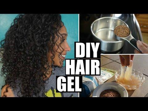DIY FLAXSEED HAIR GEL FOR CURLY HAIR