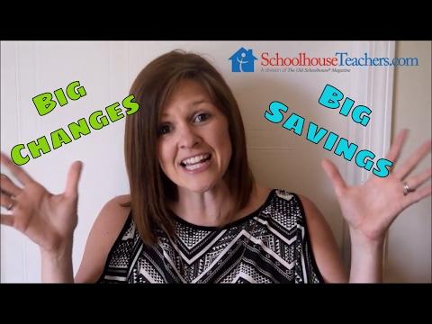 SchoolhouseTeachers.com BIG CHANGES & BIG SAVINGS | COUPON CODE