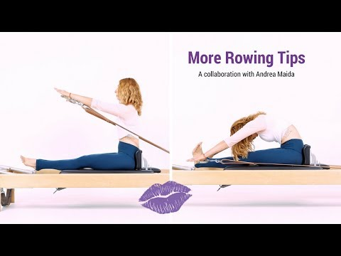 Tips for Pilates Rowing From the Chest and Hips - Lesley Logan Pilates