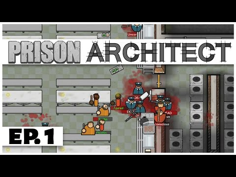 Prison Architect - Ep. 1 - The Great Prison Escape! - Let's Play - Steam Release [Sponsored]
