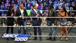 "Mr. McMahon interrupts ""Truth TV"" for a dance break: SmackDown 1000, Oct. 16, 2018"