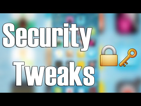 Security Tweaks iOS 8 | Cydia