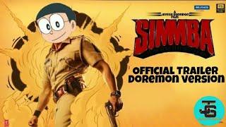 Simmba   official trailer   Doremon version  nobita be the simmbha 