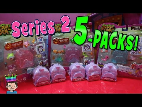 Animal Jam Series 2 Adopt-A-Pet Igloo & 5-Pack Unboxing | Blind Bags Opening