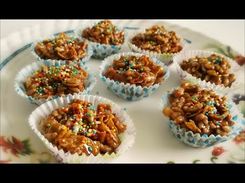 Corn flakes chocolate cookies l Own Recipe