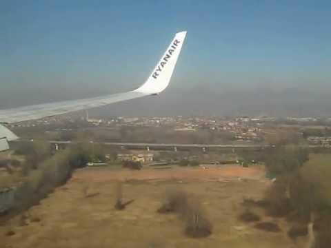 Arriving in Milan Bergamo Airport with Ryanair (24/02/12)