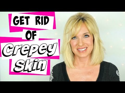 Get RID of CREPEY Body Skin! DRUGSTORE Products!