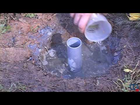 Underground Umbrella Stand from Umbrella Source