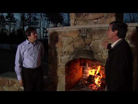 Home Work With Hank Outdoor Fireplace.mov
