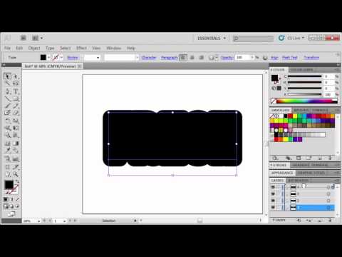2.1 Creating Text with Effects: Adobe Illustrator CS5