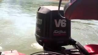 Fast boat 67 mph gps 150 hp johnson outboard motor starcraft