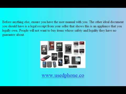 Where To Sell Used Phone - Used Mobile Phone - Used Cell Phone - Used iPhone