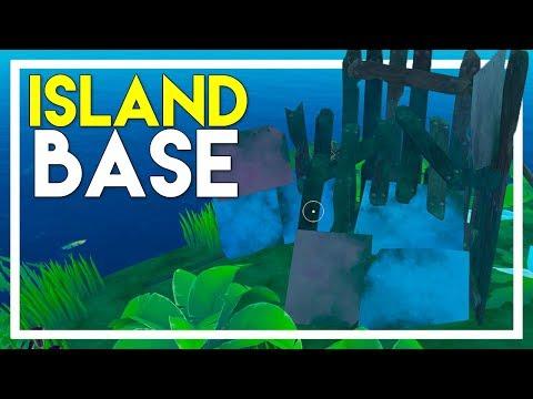 Found An Island Base! (Raft Survival Game #11)