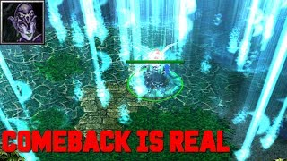 DOTA LUNA - COMEBACK IS REAL (HARD GAME)