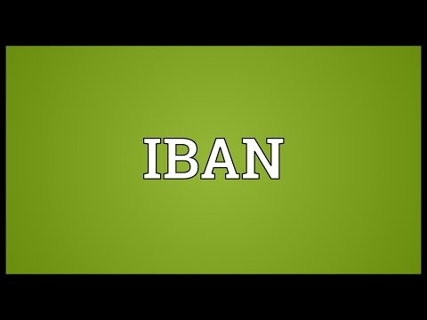 IBAN Meaning