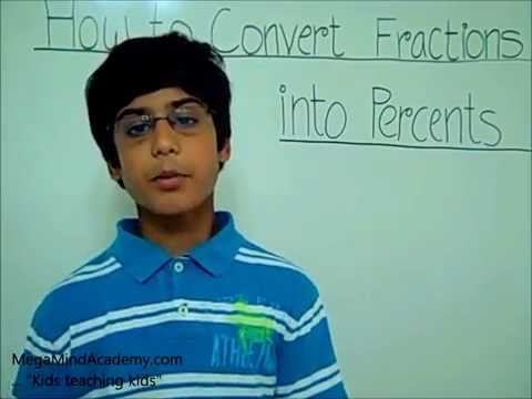 Convert Fractions into Percents.wmv