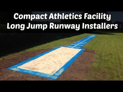 Compact Athletics Facility - Long Jump Runway Installers