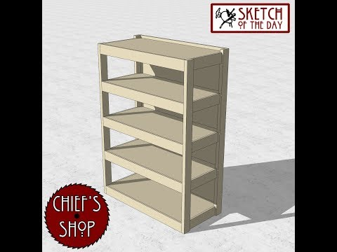 Chief's Shop Sketch of the Day: Shop Shelves