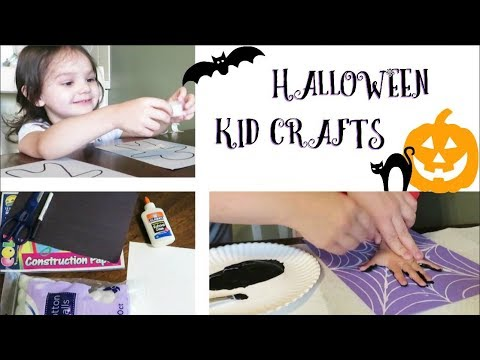 4 EASY HALLOWEEN KID CRAFTS | Nearly FREE!