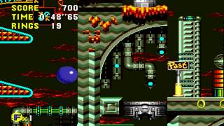 Sonic CD - Palmtree Panic Bad Future (Sega Genesis Remix) V3