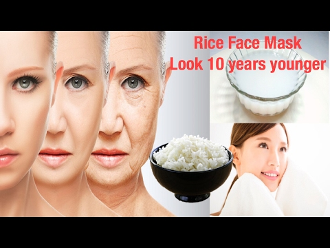Anti-Aging Rice Face Mask for Glowing skin/Rice Face Mask /Japanese Anti-Aging Secret