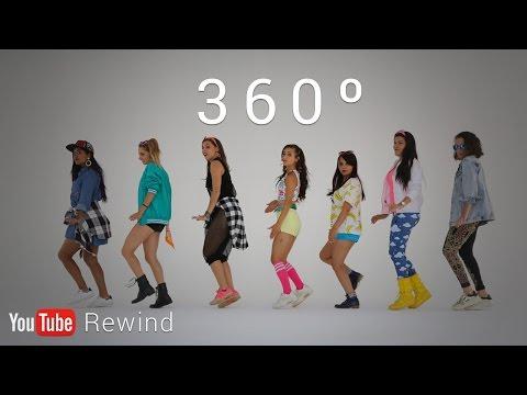 watch YouTube Rewind 2016: Epic Group Running Man Challenge in 360° #YouTubeRewind
