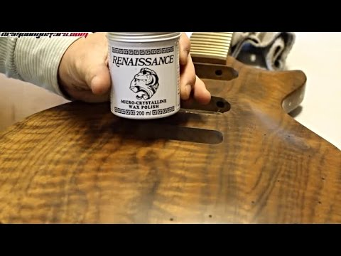 Wire wool and renaissance wax - Clarity 55