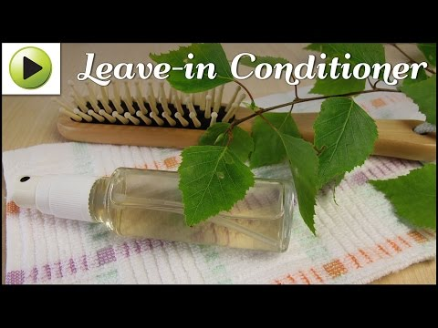 DIY Leave-In Conditioner