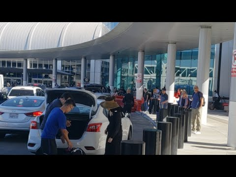 Lax airport police Crackdown on Uber Lyft Drivers at lax