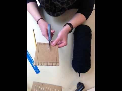 DEMO How to Make Cardboard Loom