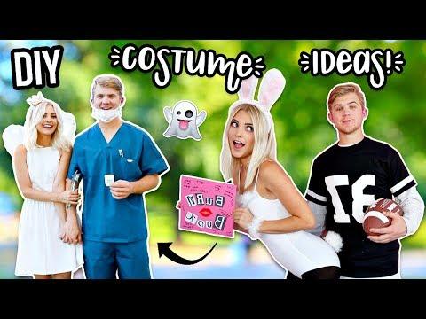 Easy DIY Couples Costumes! Last Minute Ideas! | Aspyn Ovard