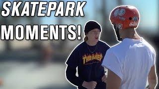 Best Skatepark Moments! (Skaters, Scooters, Bikers, People)