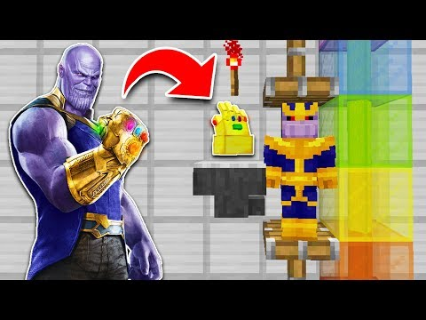 How to Get the INFINITY GAUNTLET in MINECRAFT Tutorial!