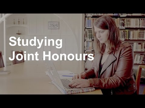 Studying Joint Honours