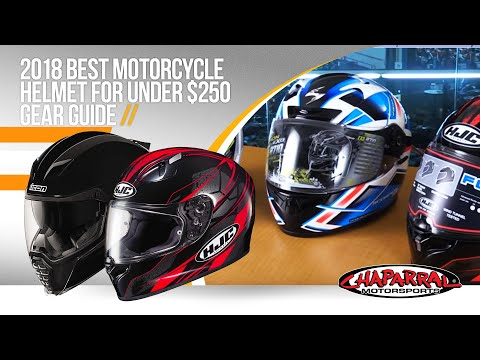 2018 Best Motorcycle Helmet For Under $250 Gear Guide from ChapMoto.com