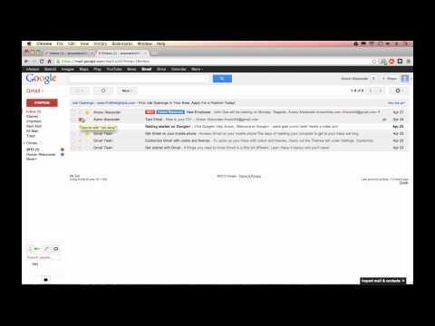 Gmail Tutorial 2013 - Gmail Settings (Part 5)