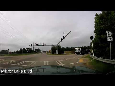 Atlanta, GA to Birmingham, AL Timelapse Drive (2017) (HD)