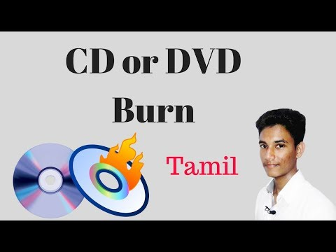 How To CD/DVD Burn.Nero Tamil Video-Star Rusdhi