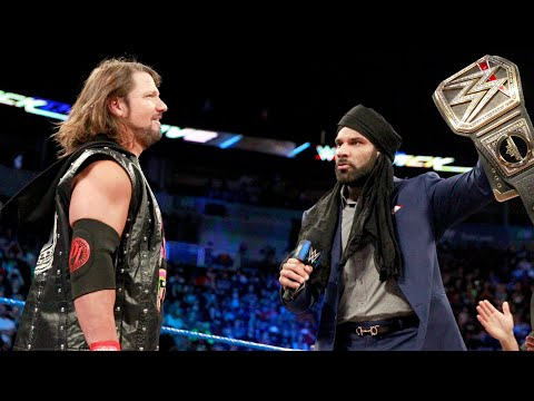 Jinder Mahal to defend the WWE Championship against AJ Styles in England: WWE Now