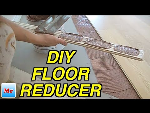 How to Make and Install Wood Reducer from Tile to Hardwood