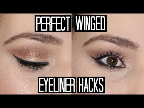 How to Get the Perfect Winged Eyeliner using Gel/Cream Liner