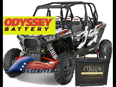 Polaris RZR 1000 EPS Battery Shoot Out