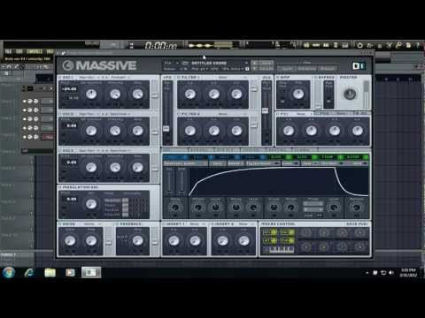NI Massive: How to make a Skrillex/Knife Party style Formant (High pitched Pluck)