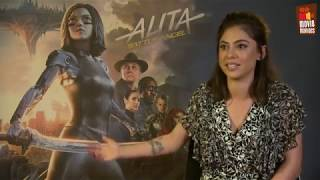 Alita: Battle Angel - Rosa Salazar & Robert Rodriguez exclusive interview (2019)