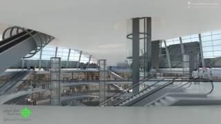 #x202b;محطة العليا #قطار_الرياض#x202c;lrm;